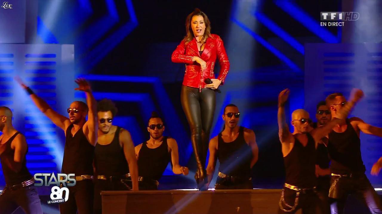 Sabrina Salerno dans Stars 80. Diffusé à la télévision le 09/05/15.