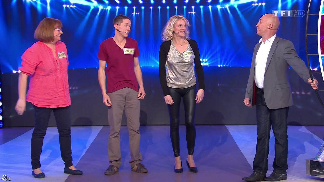 Sandrine dans le Juste Prix. Diffusé à la télévision le 04/03/15.