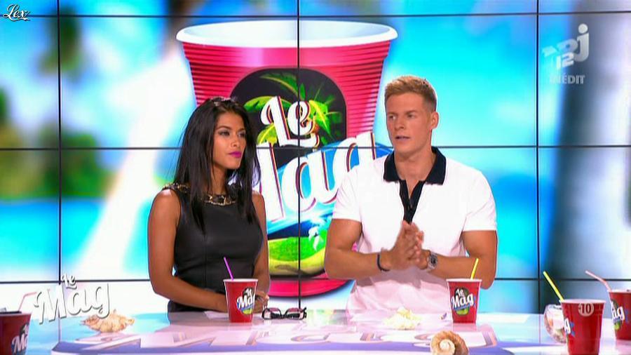 Ayem dans le Mag. Diffusé à la télévision le 26/08/13.