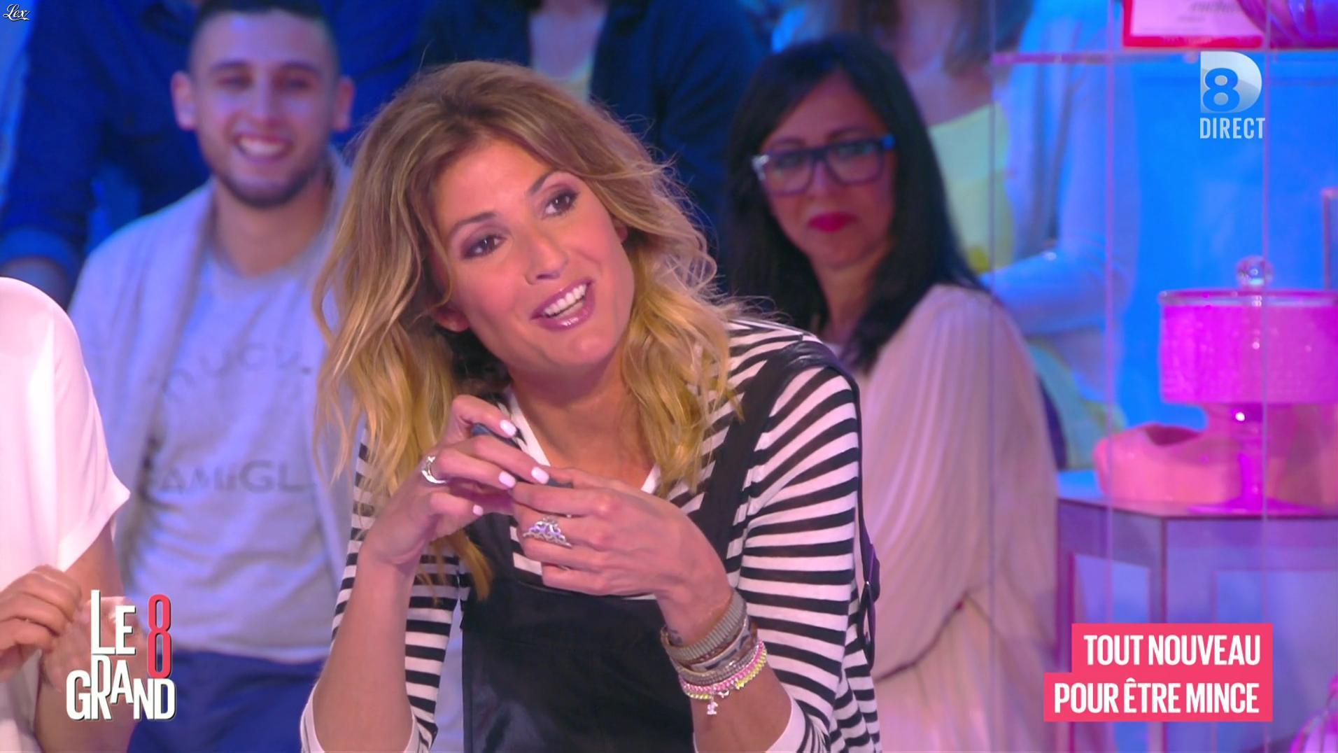 Caroline Ithurbide dans le Grand 8. Diffusé à la télévision le 12/05/16.