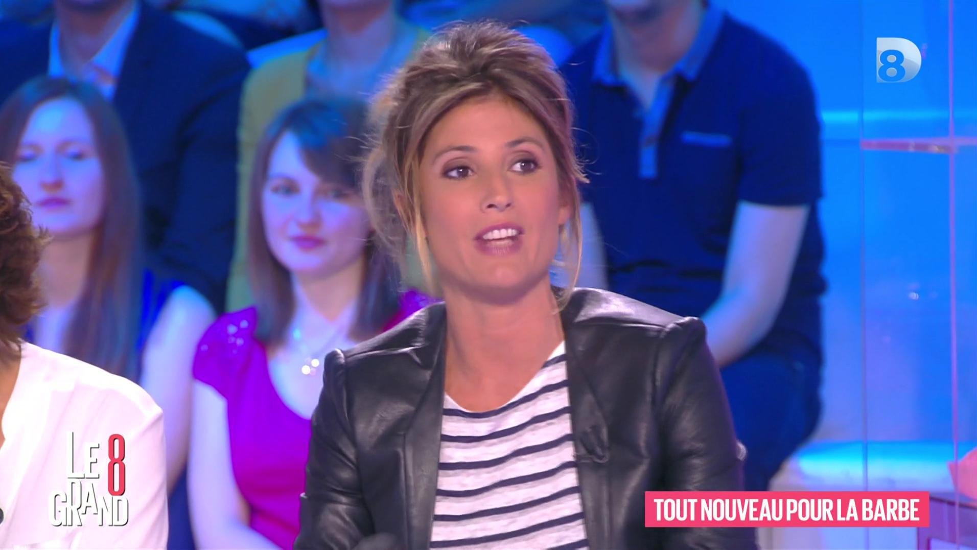 Caroline Ithurbide dans le Grand 8. Diffusé à la télévision le 17/06/16.