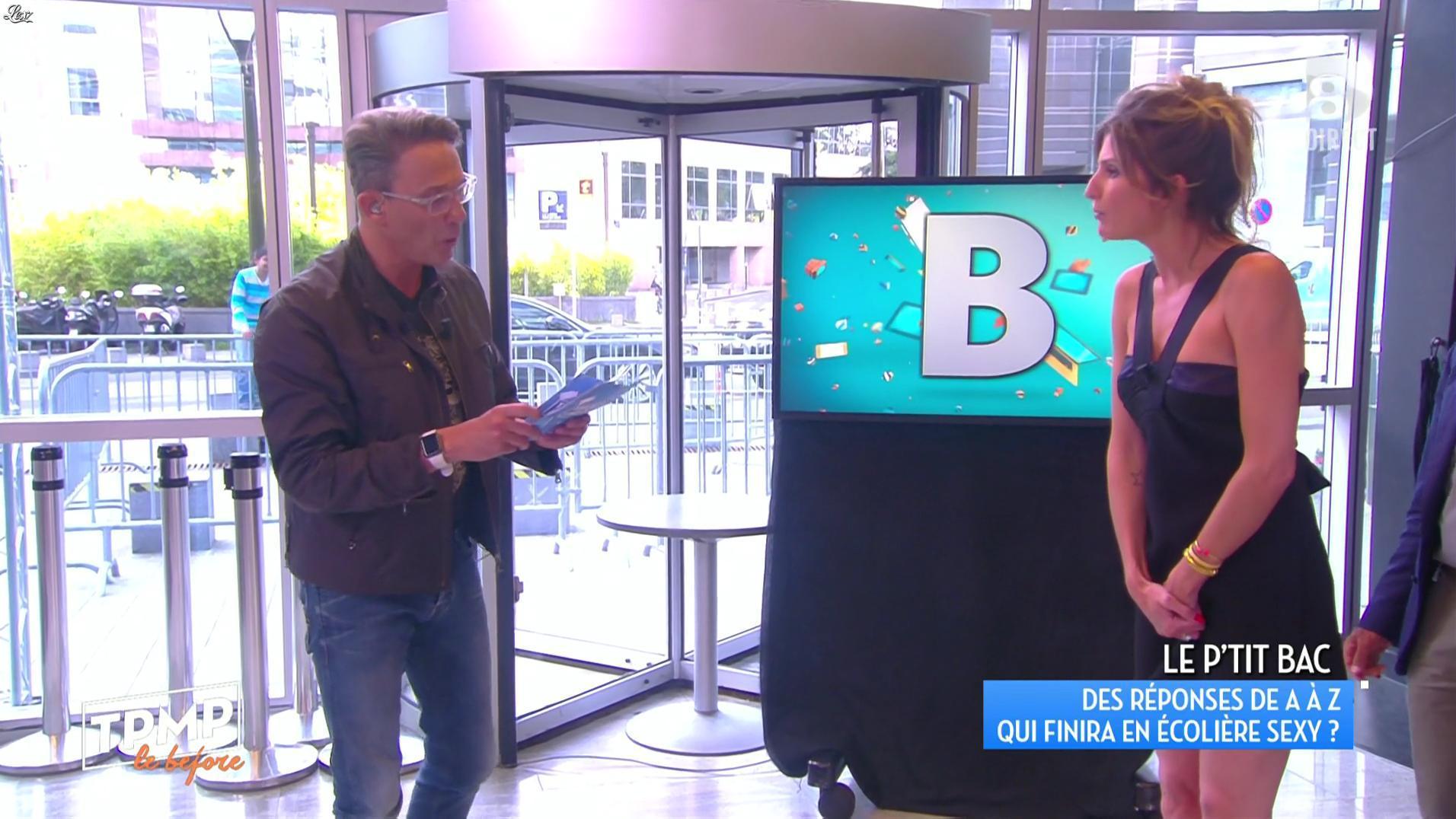 Caroline Ithurbide dans Touche pas à mon Poste. Diffusé à la télévision le 05/07/16.