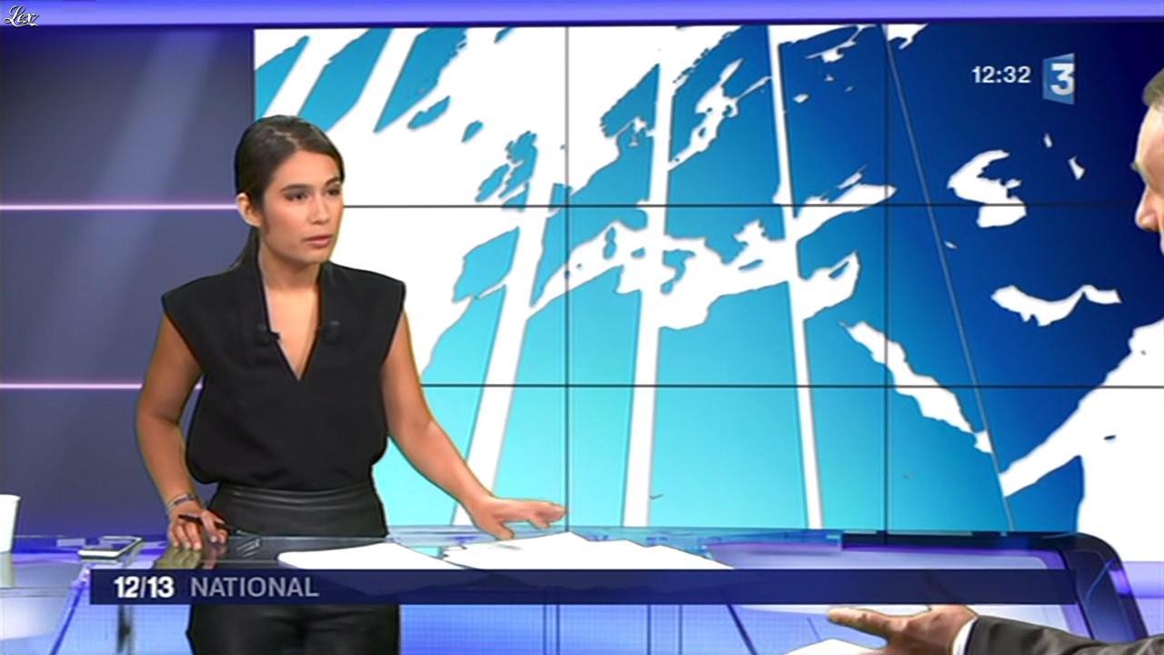 Emilie Tran Nguyen dans le 12 13. Diffusé à la télévision le 19/05/16.