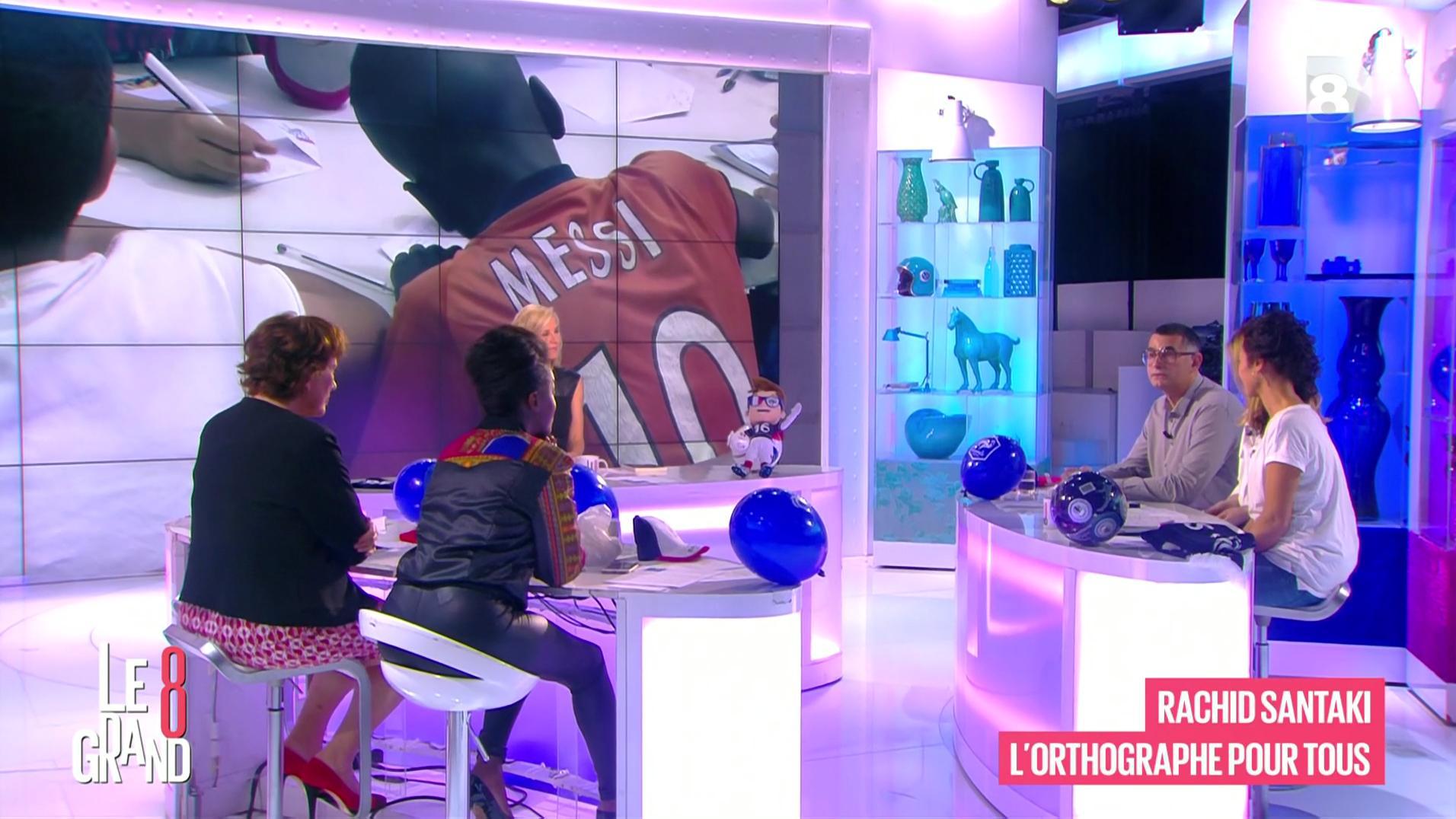 Hapsatou Sy dans le Grand 8. Diffusé à la télévision le 17/06/16.