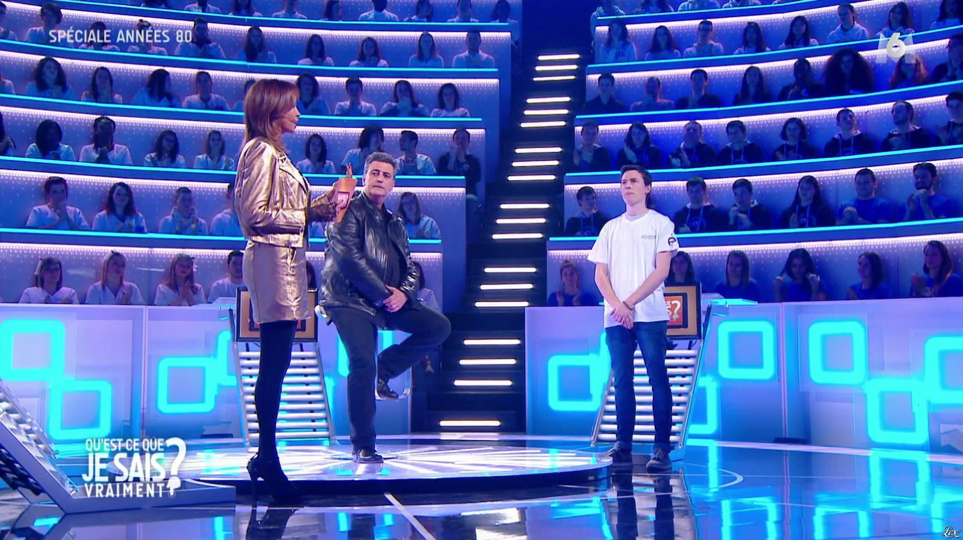 Karine Le Marchand dans qu'est ce que je sais Vraiment. Diffusé à la télévision le 04/08/16.