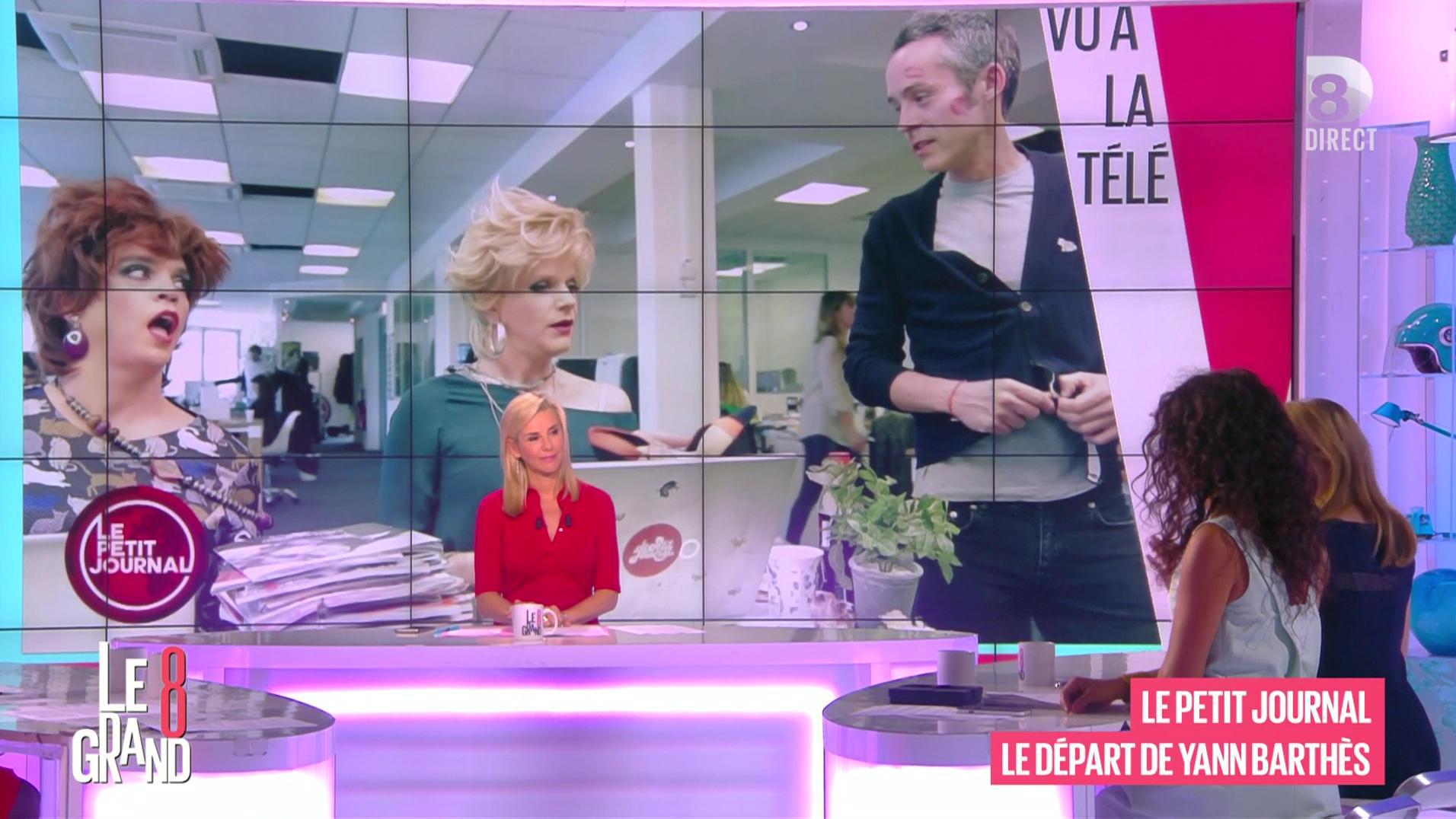 Laurence Ferrari dans le Grand 8. Diffusé à la télévision le 10/05/16.