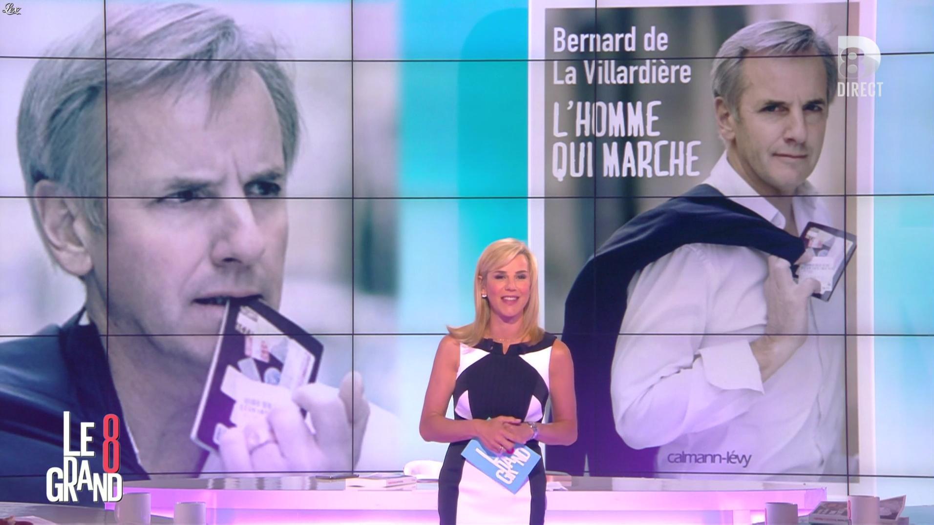 Laurence Ferrari dans le Grand 8. Diffusé à la télévision le 17/05/16.