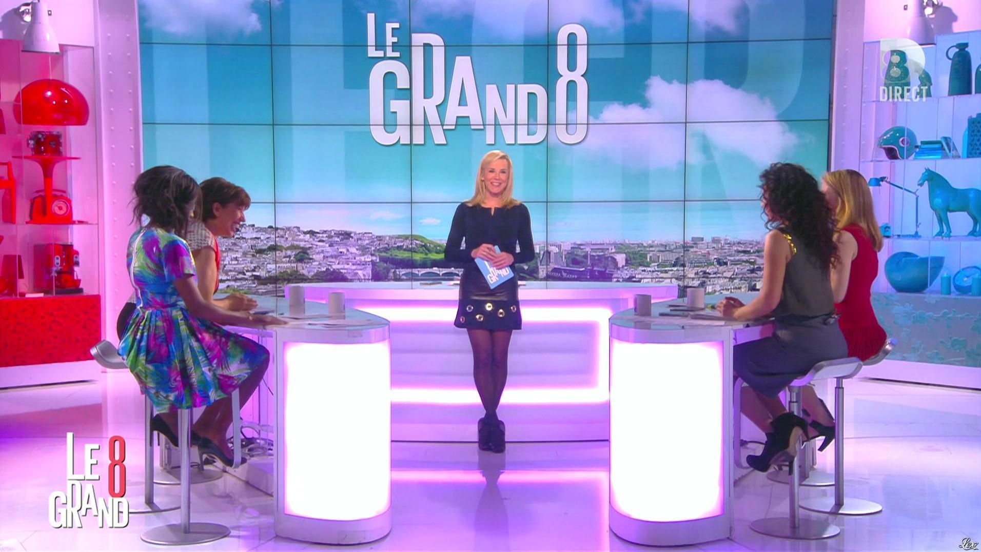 Laurence Ferrari dans le Grand 8. Diffusé à la télévision le 19/04/16.