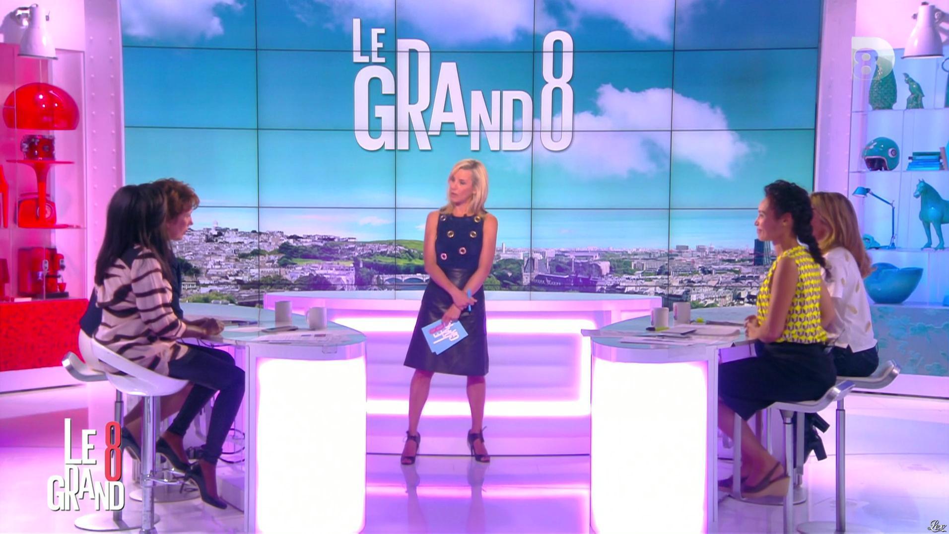 Laurence Ferrari dans le Grand 8. Diffusé à la télévision le 20/05/16.