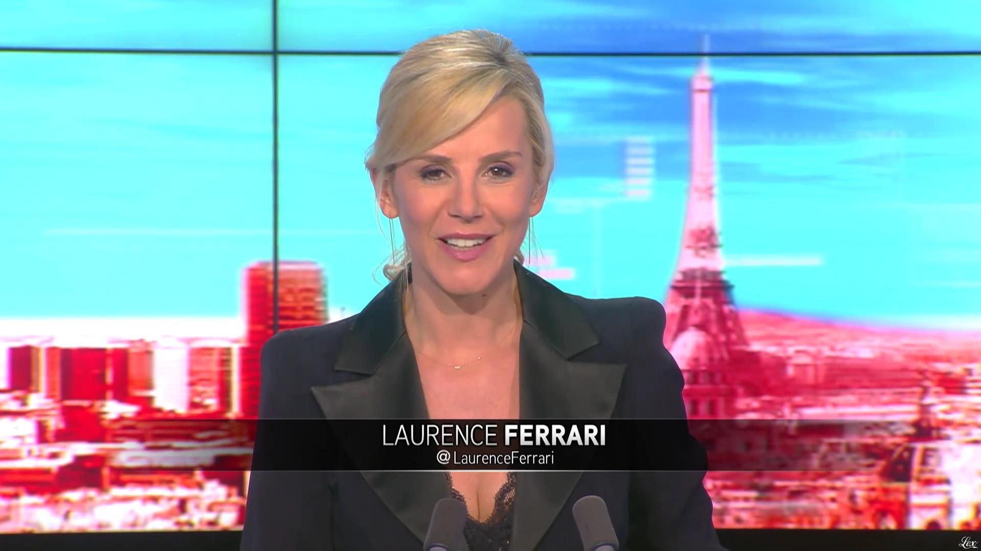 Laurence Ferrari dans Tirs Croisés. Diffusé à la télévision le 16/05/16.