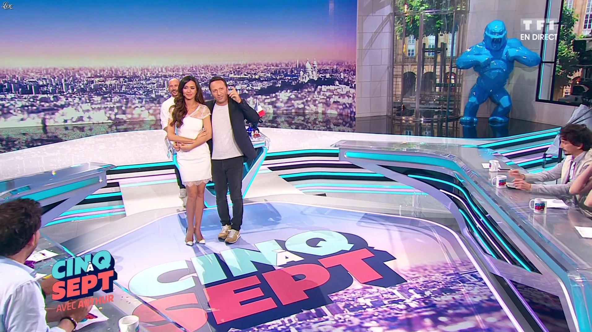 Leïla Ben Khalifa dans 5 à 7. Diffusé à la télévision le 17/06/16.