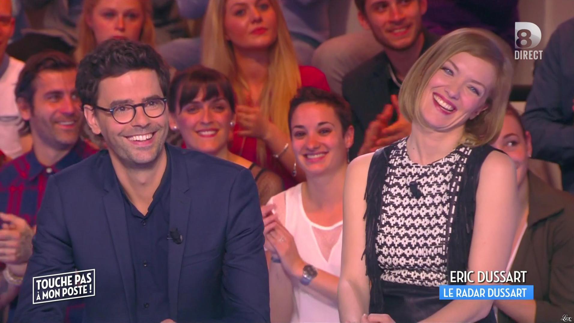Maya Lauqué dans Touche pas à mon Poste. Diffusé à la télévision le 13/05/16.