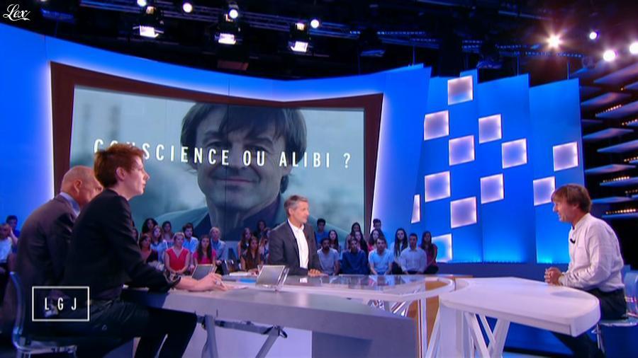Natacha Polony dans le Grand Journal de Canal Plus. Diffusé à la télévision le 01/10/14.