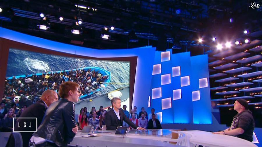 Natacha Polony dans le Grand Journal de Canal Plus. Diffusé à la télévision le 02/10/14.