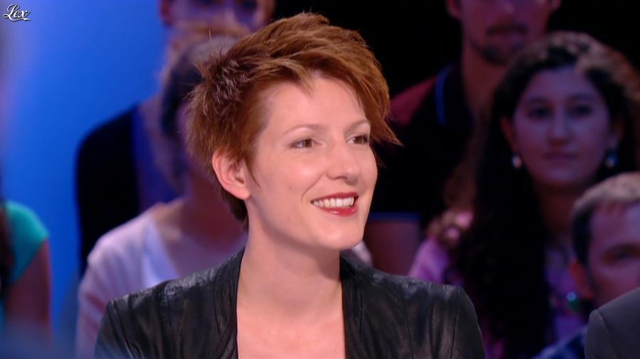 Natacha Polony dans le Grand Journal de Canal Plus. Diffusé à la télévision le 03/09/14.