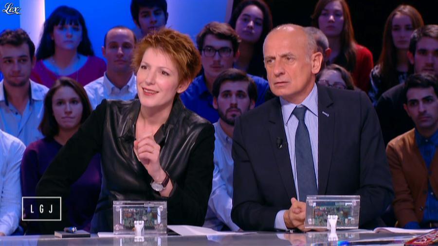 Natacha Polony dans le Grand Journal de Canal Plus. Diffusé à la télévision le 03/11/14.