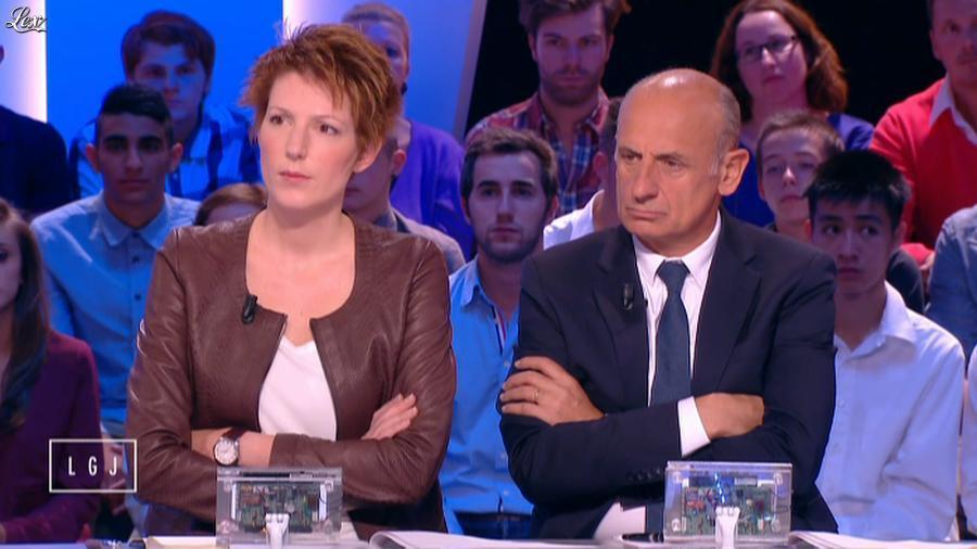 Natacha Polony dans le Grand Journal de Canal Plus. Diffusé à la télévision le 08/10/14.