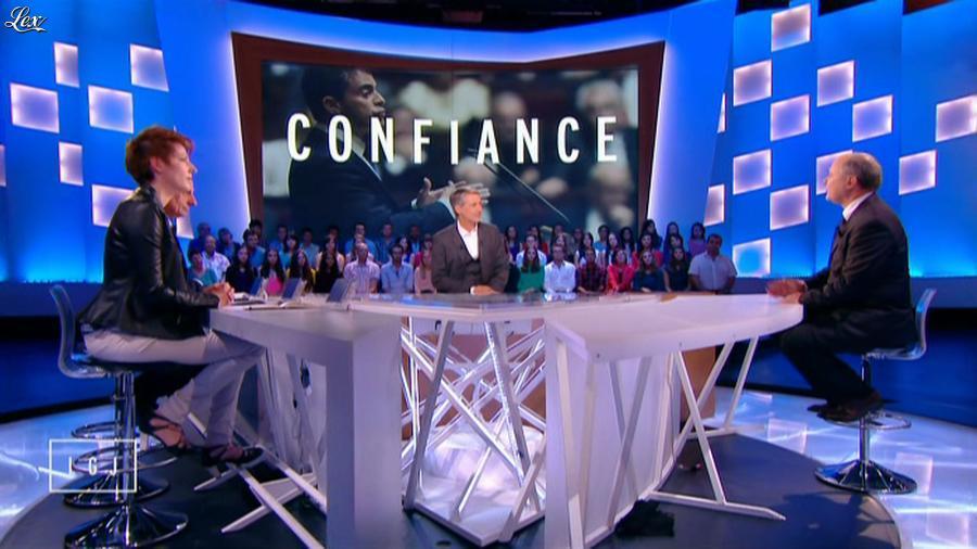 Natacha Polony dans le Grand Journal de Canal Plus. Diffusé à la télévision le 16/09/14.
