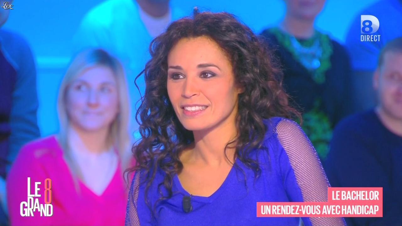 Aïda Touihri dans le Grand 8. Diffusé à la télévision le 15/03/16.
