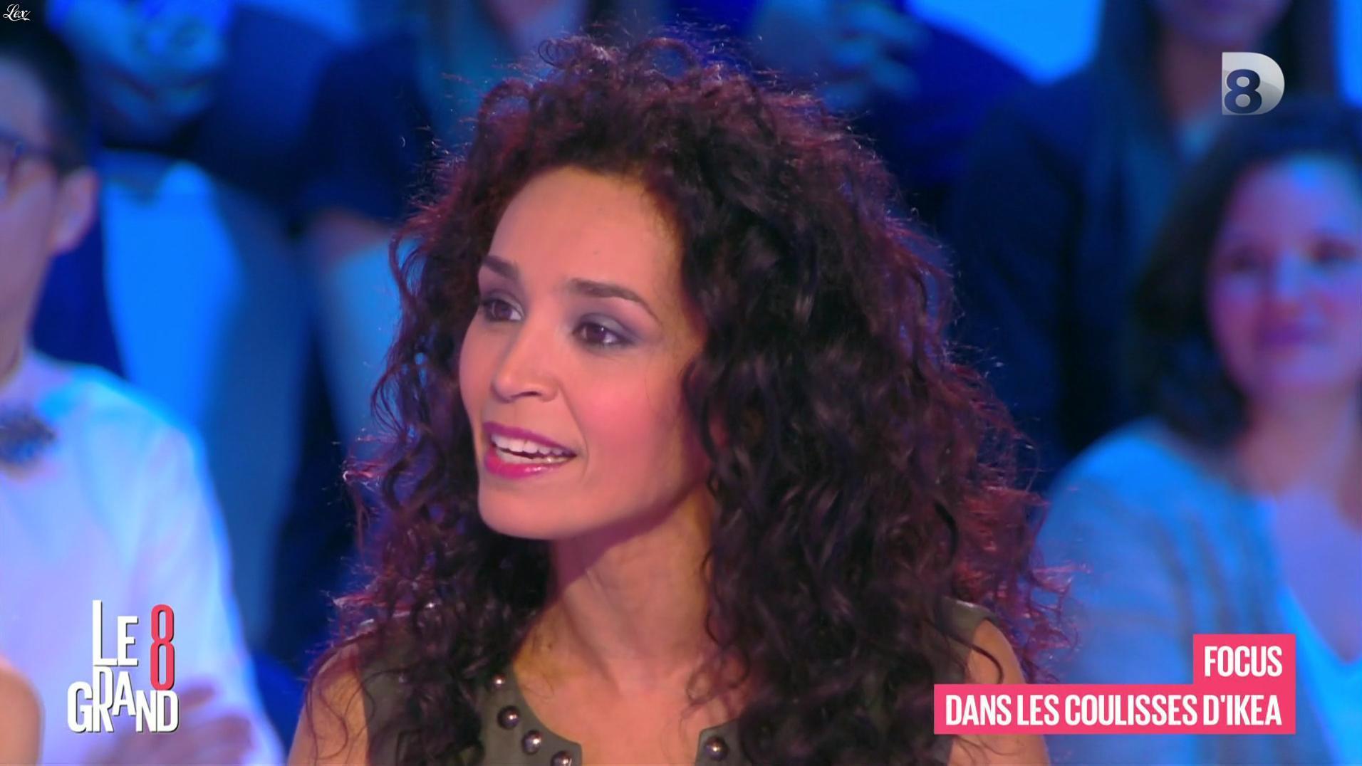 Aïda Touihri dans le Grand 8. Diffusé à la télévision le 22/04/16.