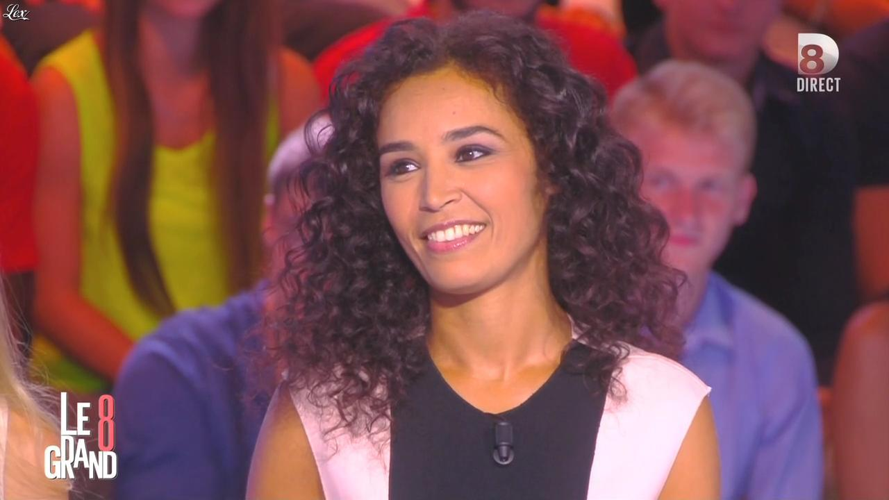 Aïda Touihri dans le Grand 8. Diffusé à la télévision le 31/08/15.