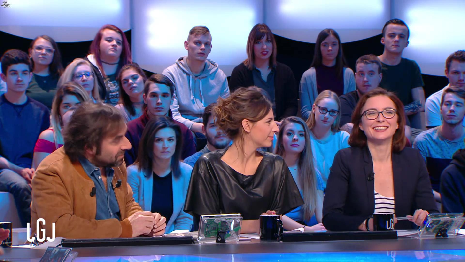 Alice Darfeuille dans le Grand Journal. Diffusé à la télévision le 26/01/17.
