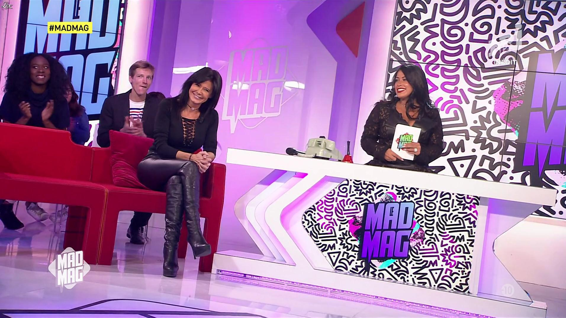 Ayem et Nathalie dans le Mad Mag. Diffusé à la télévision le 19/01/17.