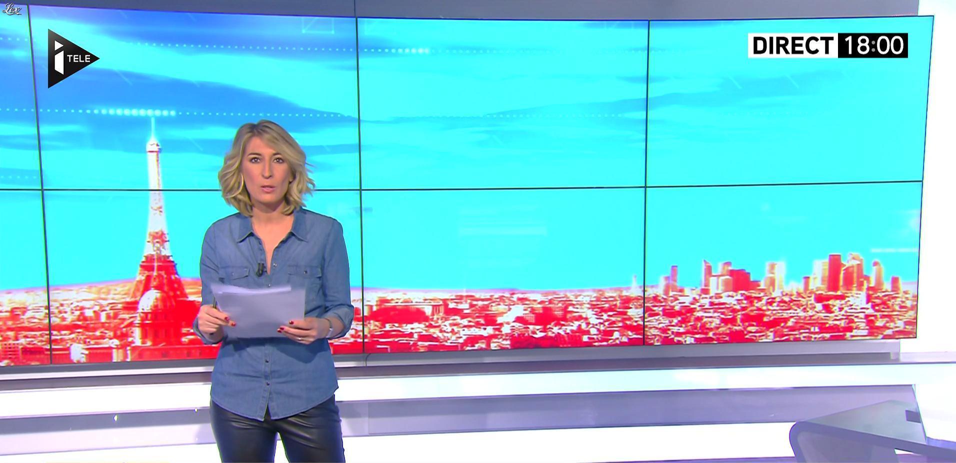 Caroline Delage dans le Direct Ferrari. Diffusé à la télévision le 01/02/17.