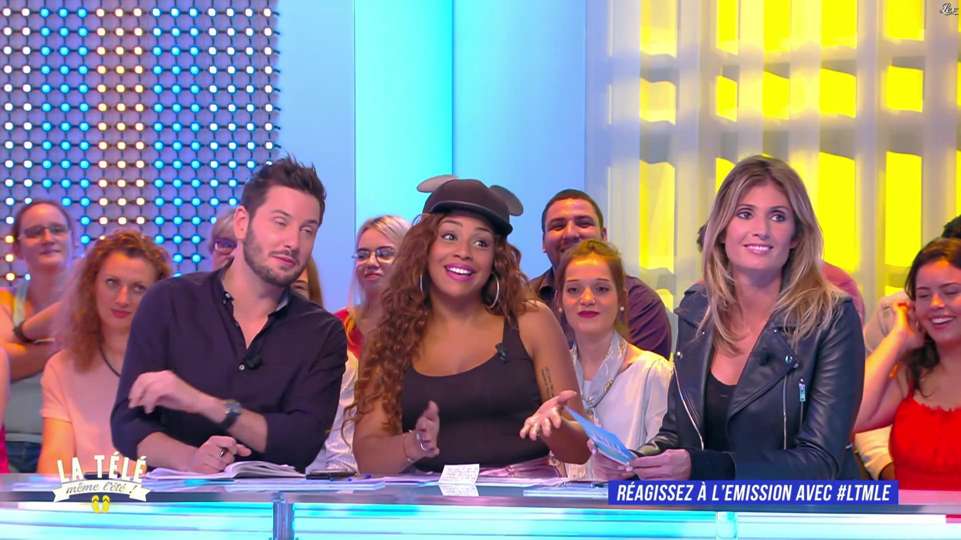 Caroline Ithurbide dans la Télé, même l'été. Diffusé à la télévision le 13/07/17.