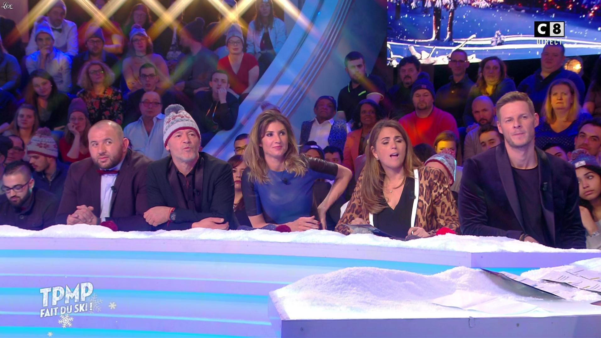 Caroline Ithurbide dans TPMP Fait du Ski. Diffusé à la télévision le 20/01/17.