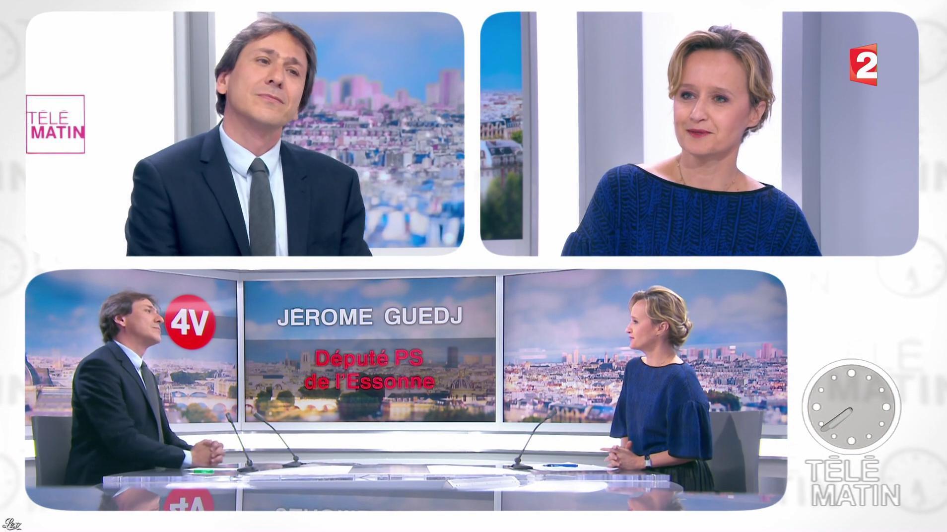 Caroline Roux dans les 4 Vérités. Diffusé à la télévision le 10/05/17.