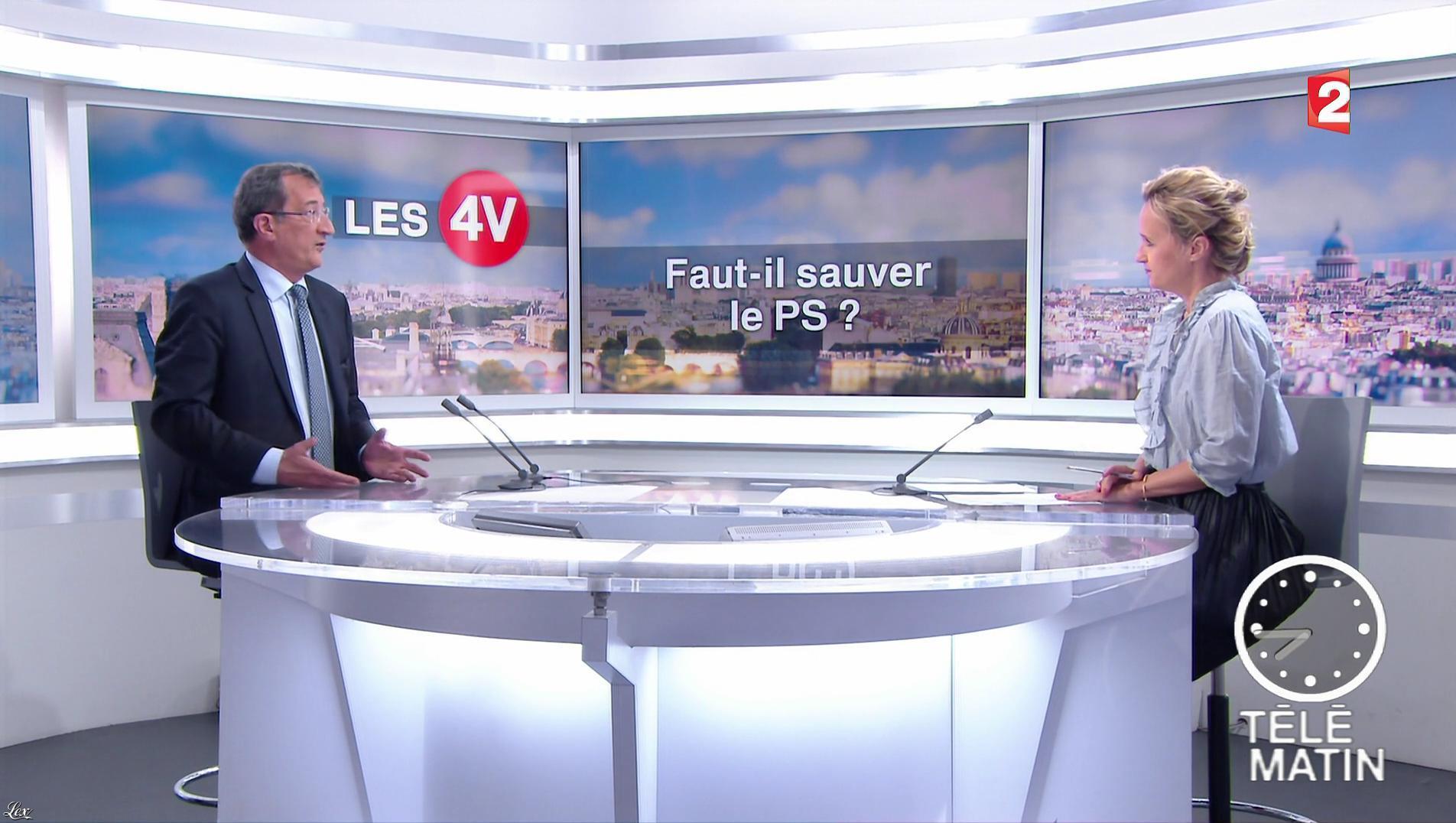 Caroline Roux dans les 4 Vérités. Diffusé à la télévision le 14/06/17.