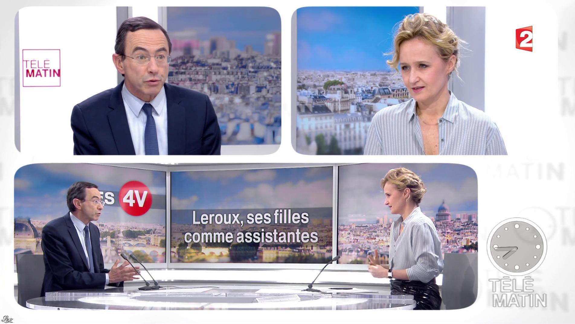 Caroline Roux dans les 4 Vérités. Diffusé à la télévision le 21/03/17.