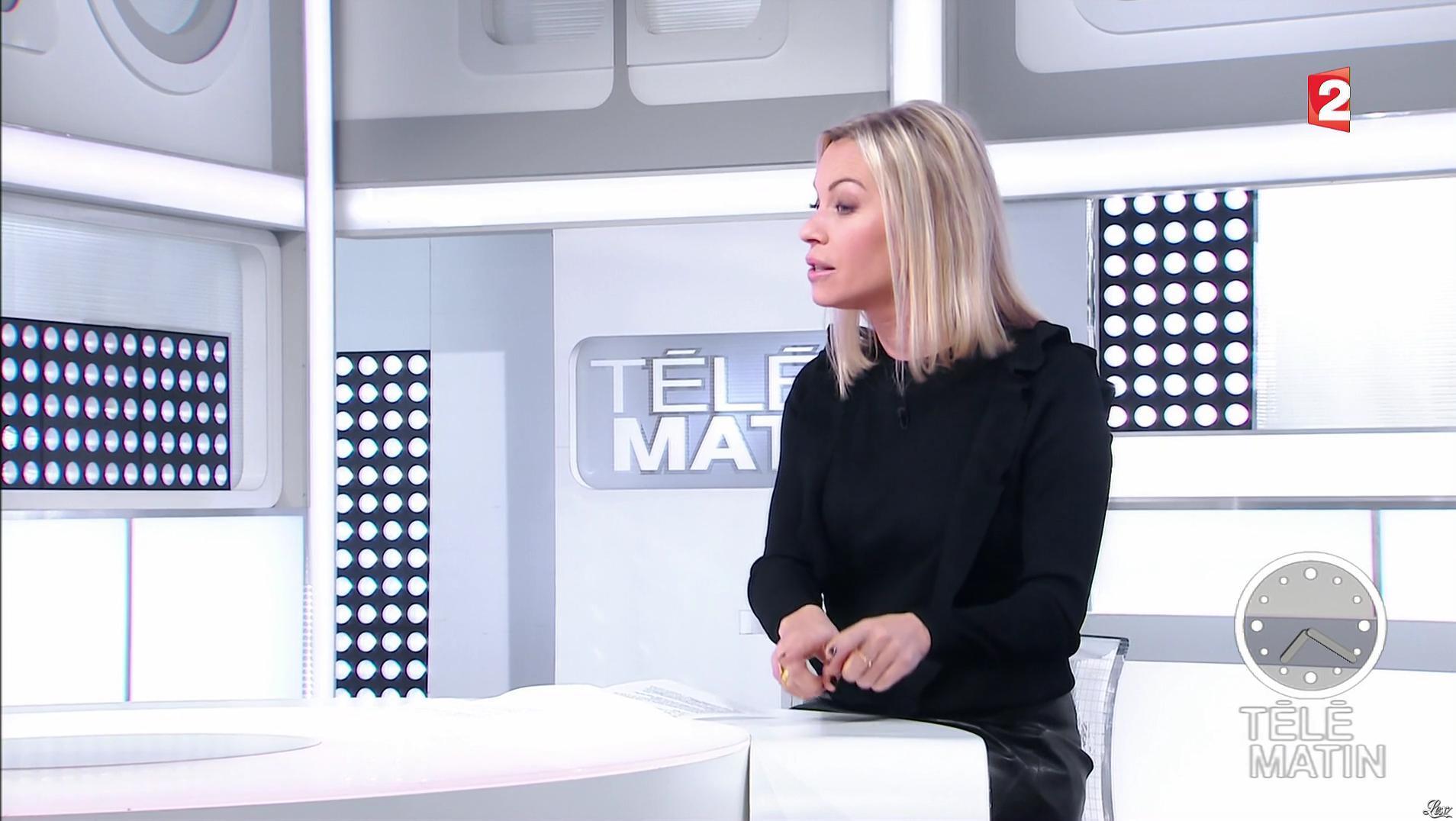 Charlotte Bouteloup dans Télématin. Diffusé à la télévision le 06/01/17.