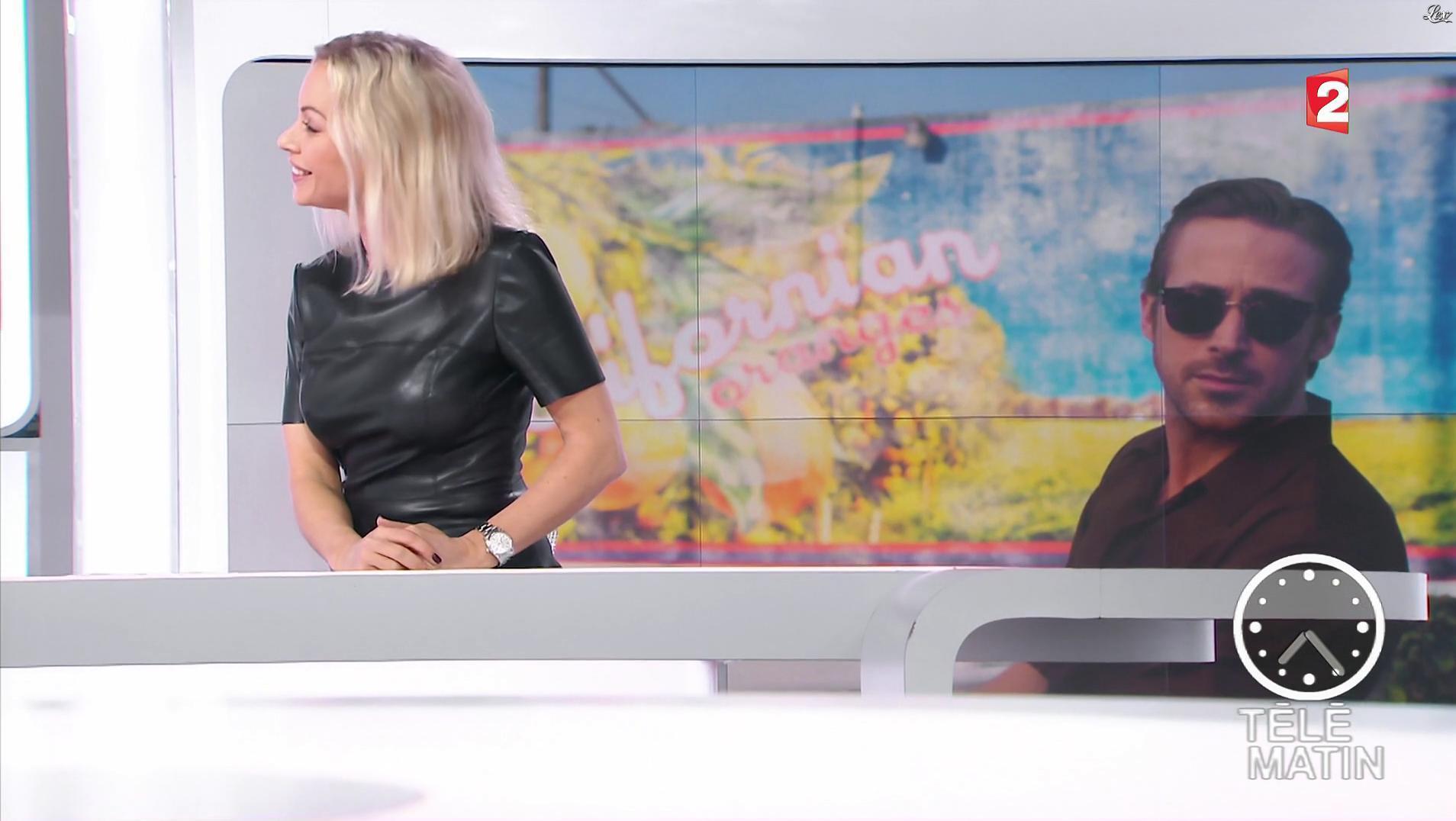 Charlotte Bouteloup dans Télématin. Diffusé à la télévision le 09/01/17.