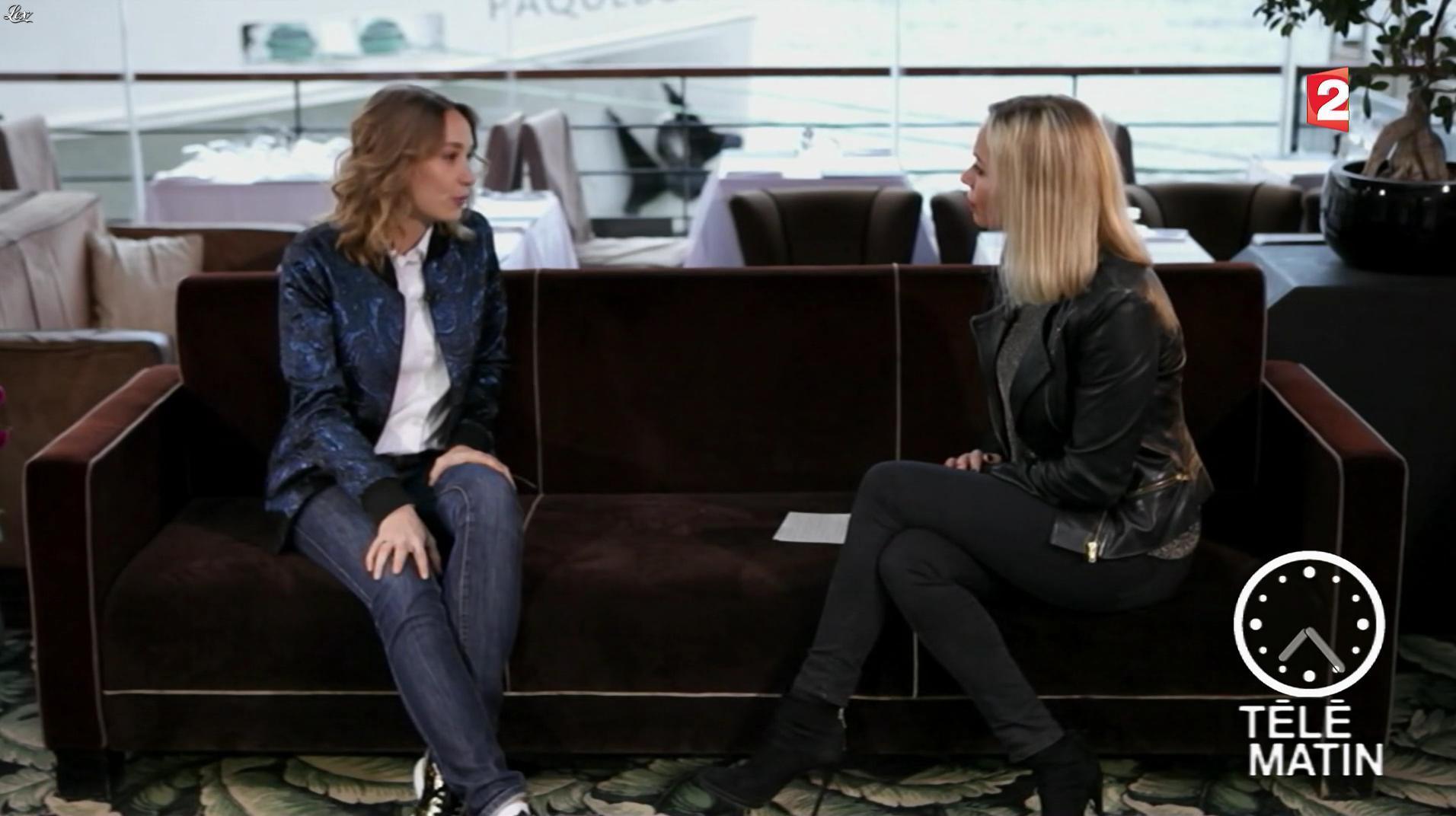 Charlotte Bouteloup dans Télématin. Diffusé à la télévision le 16/01/17.