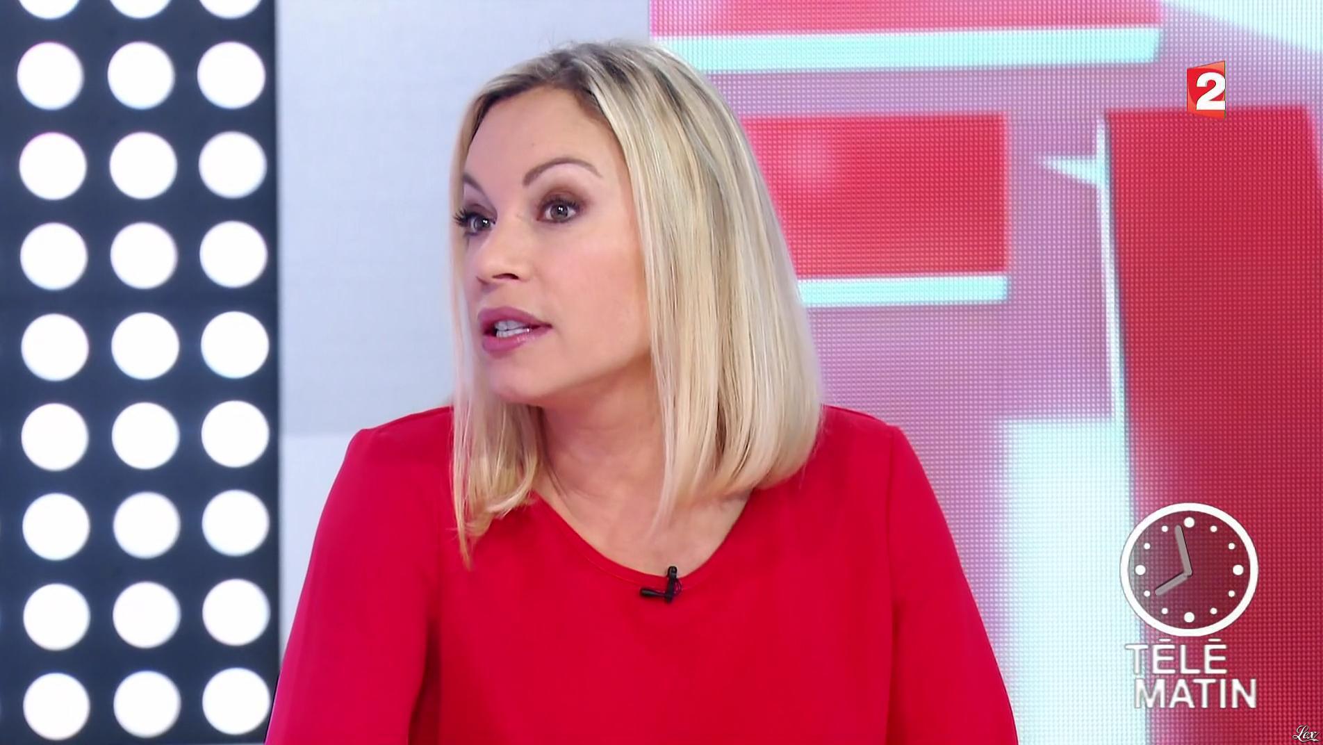 Charlotte Bouteloup dans Télématin. Diffusé à la télévision le 17/01/17.