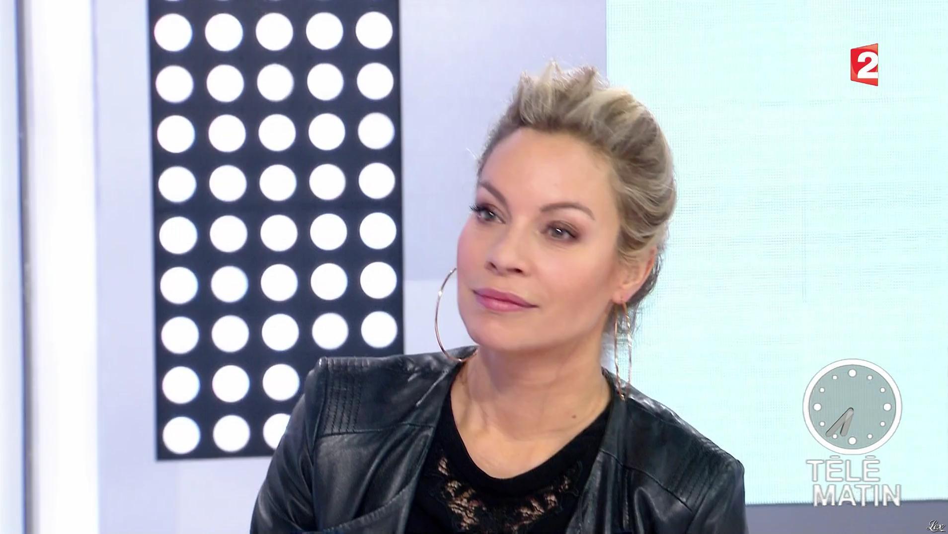 Charlotte Bouteloup dans Télématin. Diffusé à la télévision le 23/02/17.