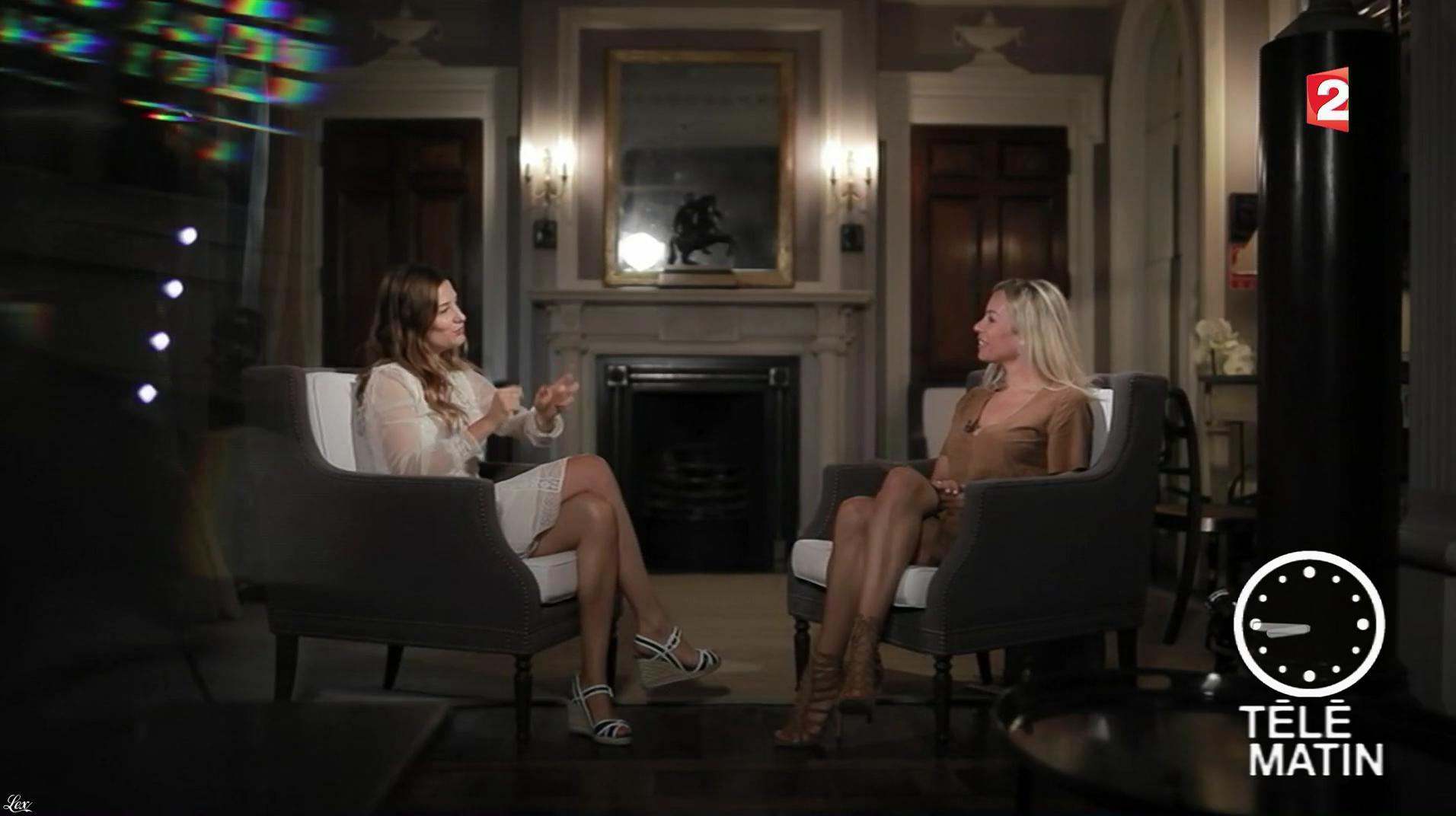 Charlotte Bouteloup dans Télématin. Diffusé à la télévision le 30/06/17.