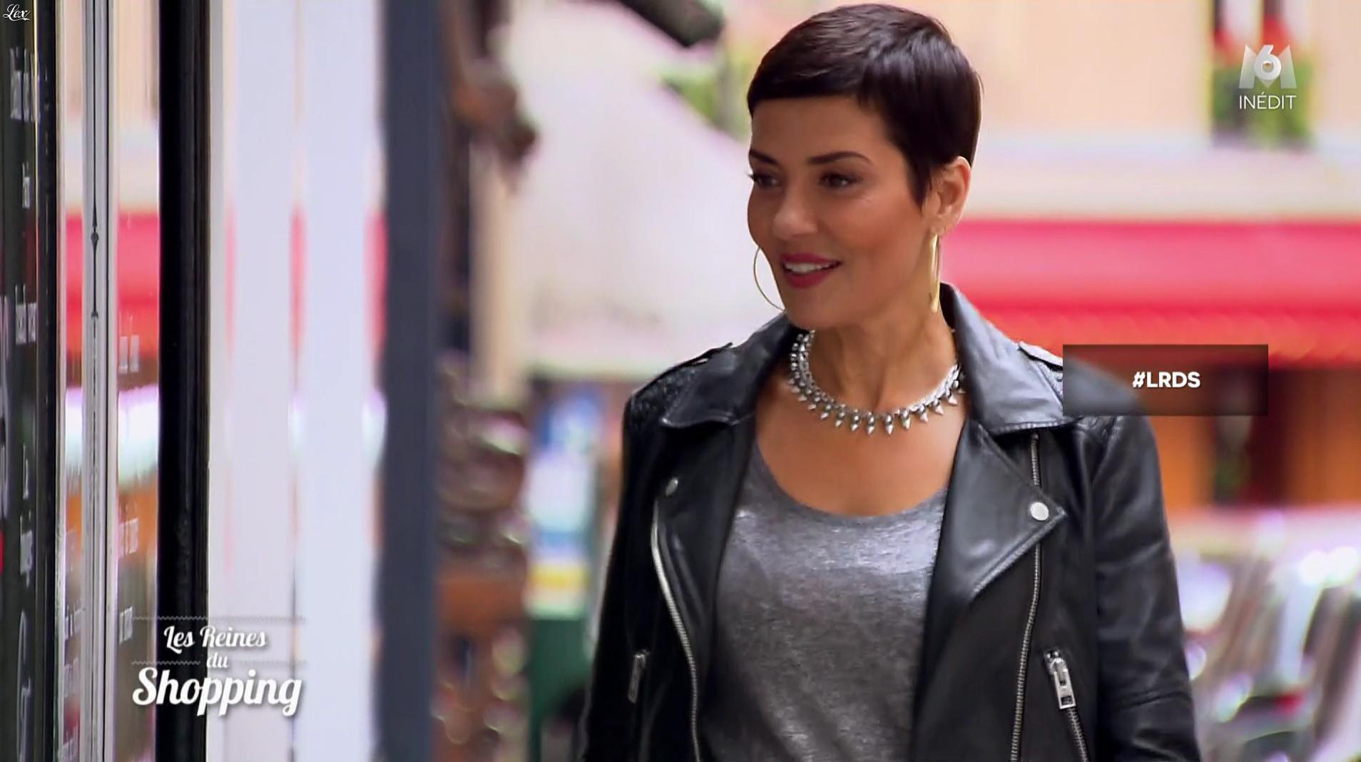 Cristina Cordula dans les Reines du Shopping. Diffusé à la télévision le 10/04/17.