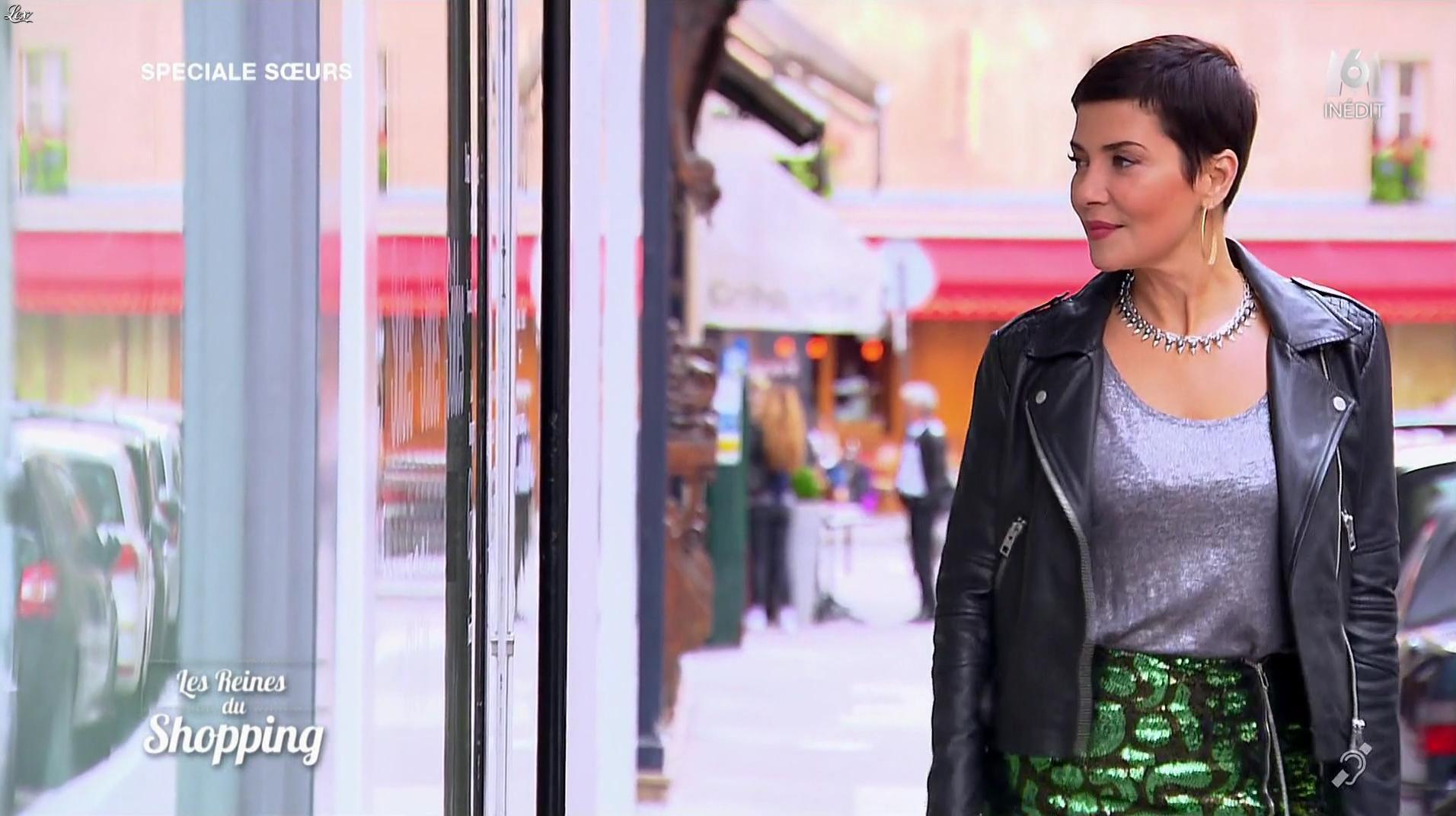 Cristina Cordula dans les Reines du Shopping. Diffusé à la télévision le 24/04/17.