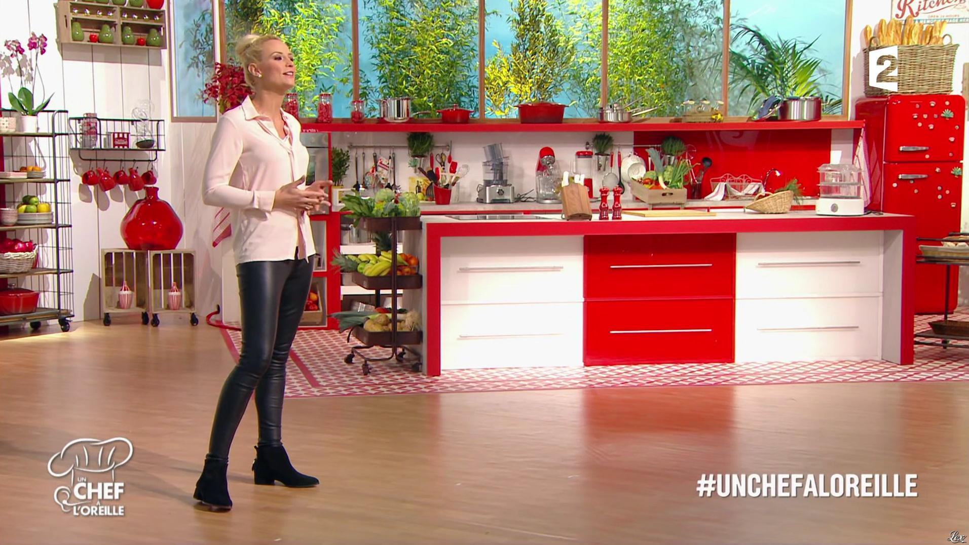 Elodie Gossuin dans un Chef à l'Oreille. Diffusé à la télévision le 23/01/17.