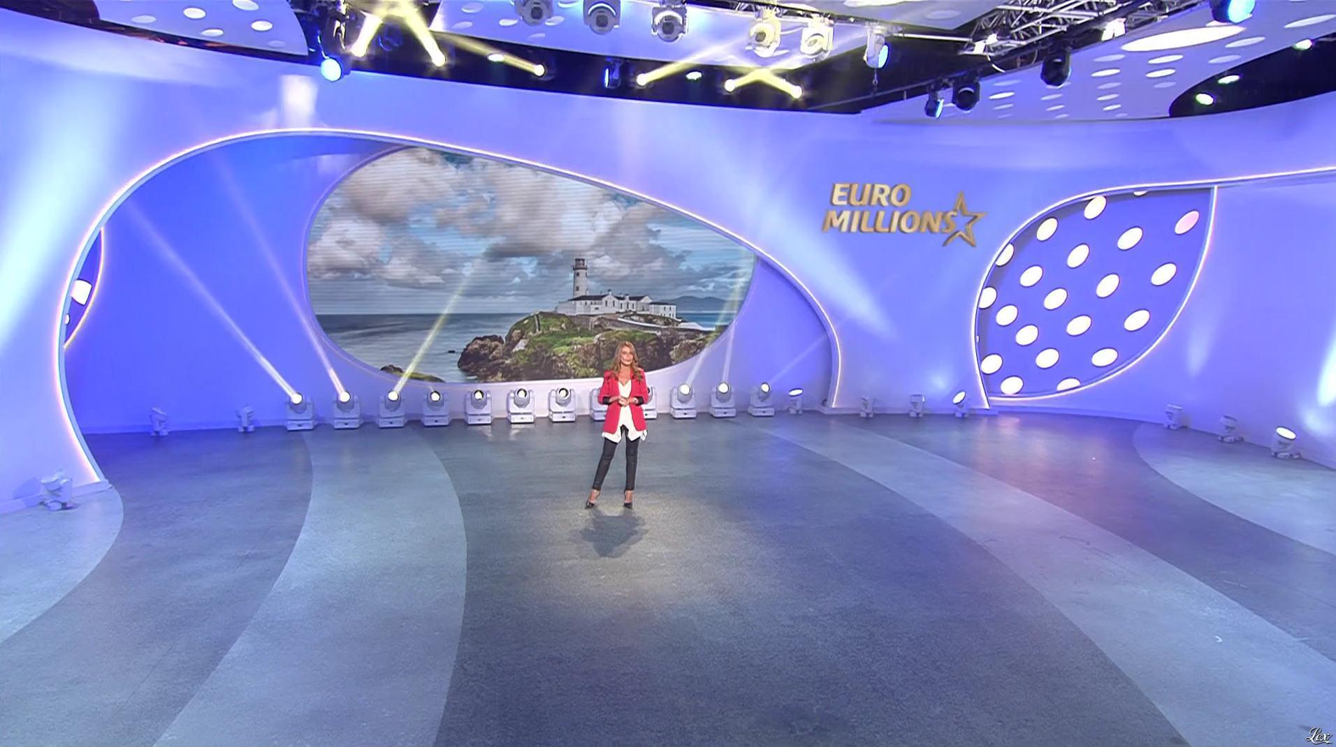 Elsa Fayer dans Euro Millions. Diffusé à la télévision le 04/08/17.