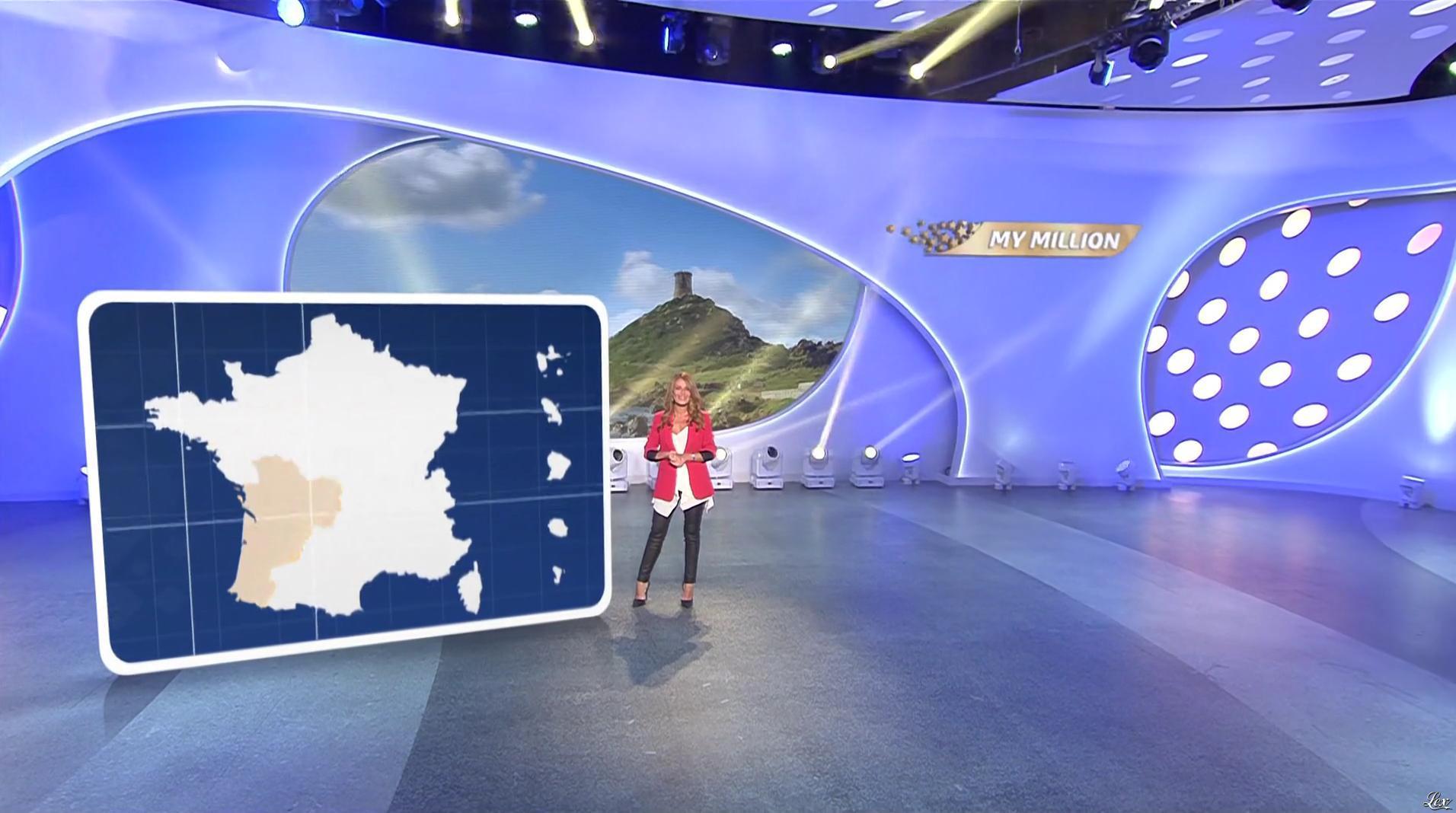 Elsa Fayer dans My Million. Diffusé à la télévision le 04/08/17.