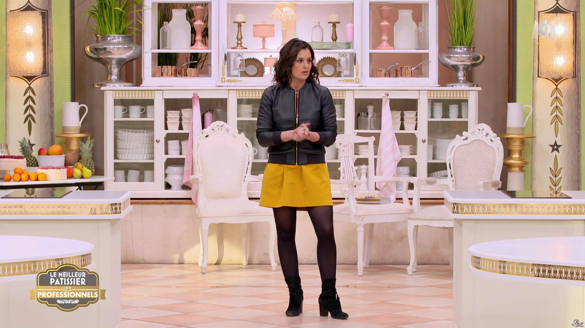 Faustine Bollaert dans le Meilleur Pâtissier. Diffusé à la télévision le 16/05/17.