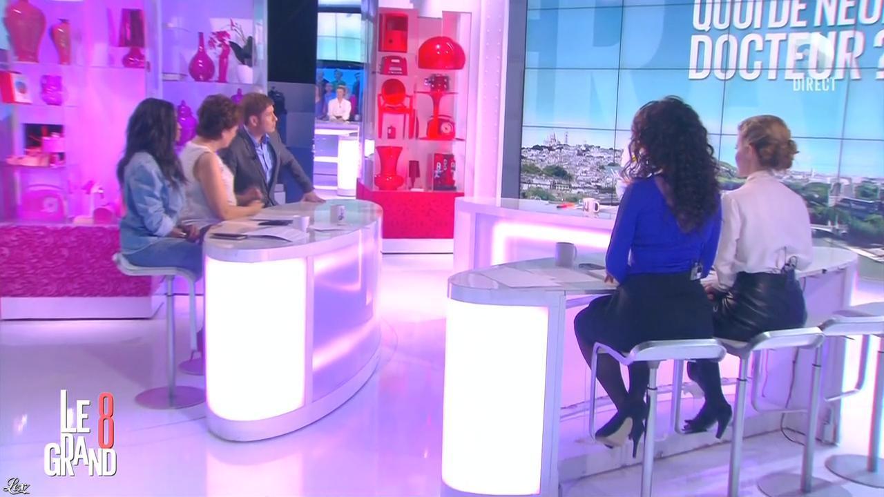 Hapsatou Sy, Aïda Touihri et Elisabeth Bost dans le Grand 8. Diffusé à la télévision le 15/03/16.