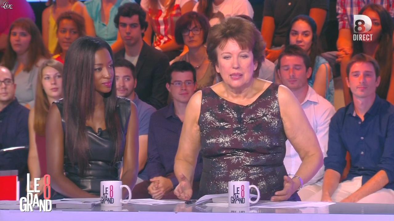 Hapsatou Sy dans le Grand 8. Diffusé à la télévision le 31/08/15.