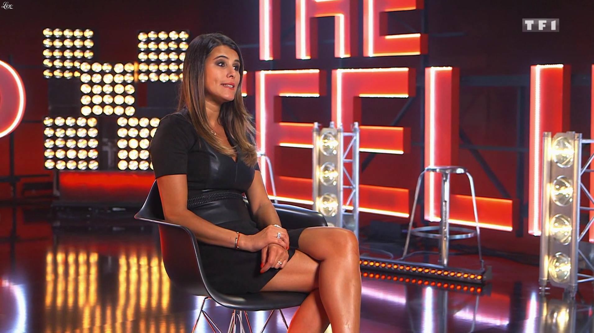 Karine Ferri dans Danse avec les Stars. Diffusé à la télévision le 04/02/17.