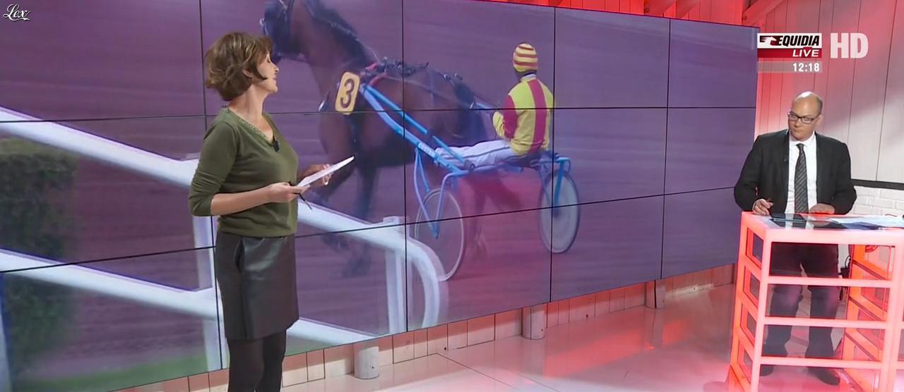 Laure Legrand dans un Jour aux Courses. Diffusé à la télévision le 04/05/17.