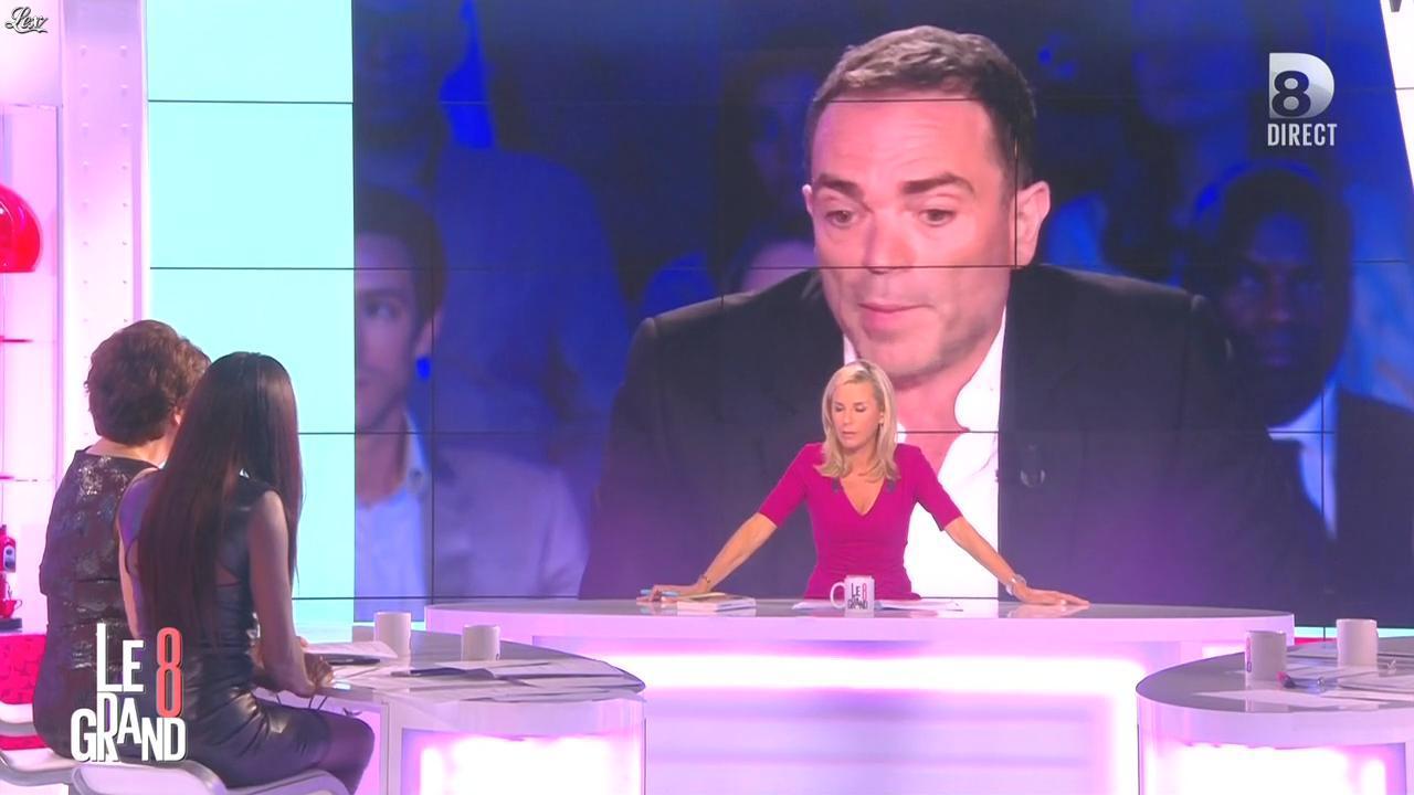 Laurence Ferrari et Hapsatou Sy dans le Grand 8. Diffusé à la télévision le 31/08/15.